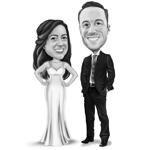 Wedding Caricature Poster example 4