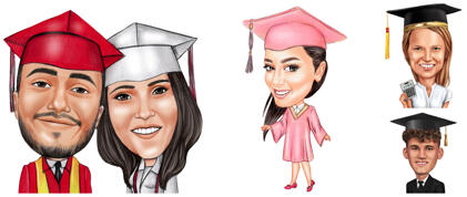 Graduation Karikaturer