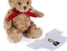 Groom Caricature from Photos on Teddy Bear