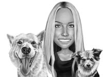 Pets Caricatures example 7