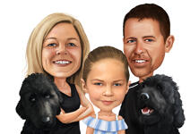 Pets Caricatures example 46