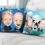 Caricature Cushion example 4