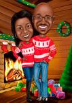 بطاقات عيد الميلاد مخصصة example 2