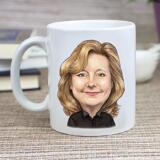 Cofee mug with Corporate Caricature