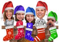 بطاقات عيد الميلاد مخصصة example 12
