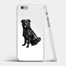 Dog Caricature Printed on Case
