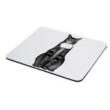 Cat Portrait from Photos on Mouse Pad
