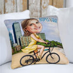 Caricature Cushion example 12