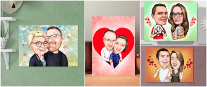 Printed Valentine's Posters