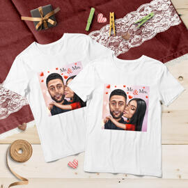 Matching Caricature Tshirts