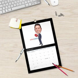 Business Caricature Calendar