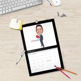 Business Caricature Calendar