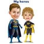 Superhero Caricatures example 25