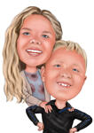 Kids Caricatures example 19