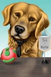 Pet Karikatuur Bowl example 13