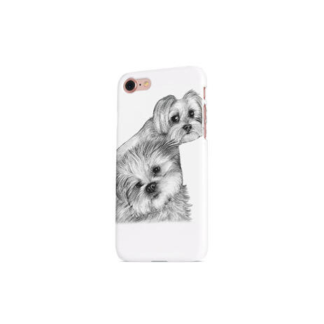 Dogs Portrait on Printed Phone case - example