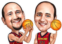 Sports Caricatures example 21