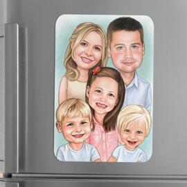 Caricature Magnets