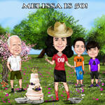 Custom Caricature example 19