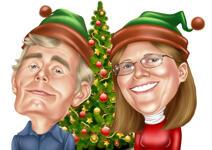 بطاقات عيد الميلاد مخصصة example 1