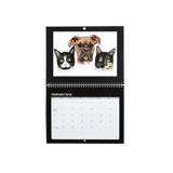 Pets Caricature Printed on Calendar