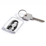 Bride Caricature from Photos on Keyrings