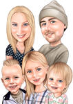 Family Caricatures example 20