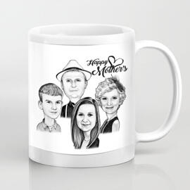Personalized Photo Mug: Custom Mug for Mother's Day Gift