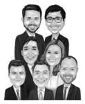 Caricatures for Business example 6