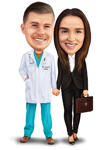 Doctor caricatura example 7