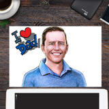 Print on Photo Paper: Personalized Father's Day Gift