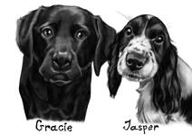 Pets Caricatures example 5
