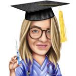 Enfermera caricatura example 3