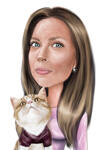 Mother's Day Caricature  example 1