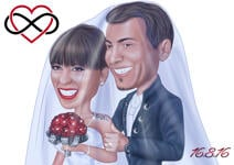 Caricatures Saint Valentin example 29
