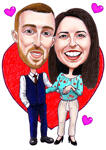 Caricatures Saint Valentin example 35