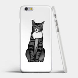 Cat Portrait from Photos on Photo Cases