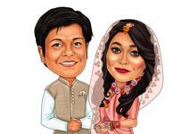 結婚式の風刺画 example 31