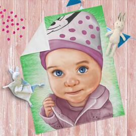 Caricature Blanket