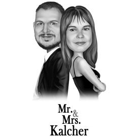 سميث الوكلاء مستوحاة زوجين الكرتون لعيد الحب