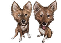 Pets Caricatures example 42