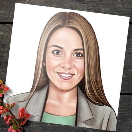 Portrait for Business on Poster - example