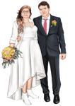 婚礼漫画 example 5
