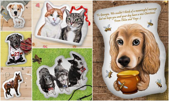 Cuscino Pet forma personalizzata large example