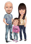 Family Caricatures example 14