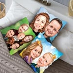Caricature Cushion example 14