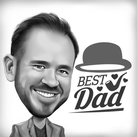 Bonne fête des pères dessin animé le jour de la fête des pères - example