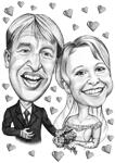 Wedding Caricature Poster example 14