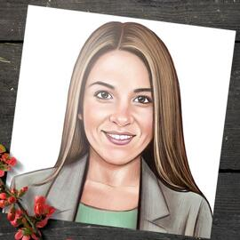 Portrait for Business on Poster