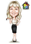 Realtor Caricature example 12